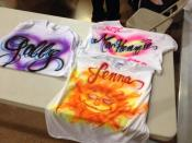 Some Great Airbrushed Shirts at a PG