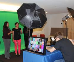 Green Screen Photo Station
